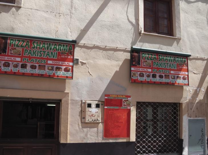 pizza shwarma pakistani