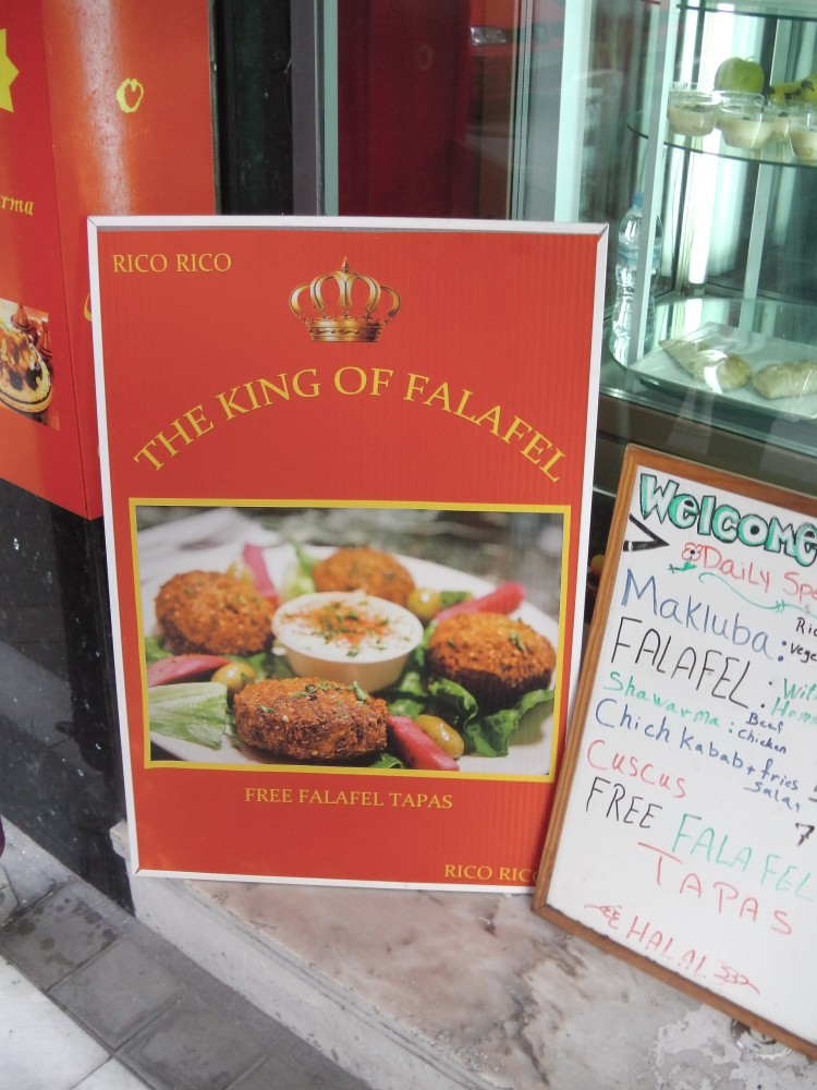And we have a winner- Best Falafel in Granada 2015 goes to....Rico Rico! (1/4)