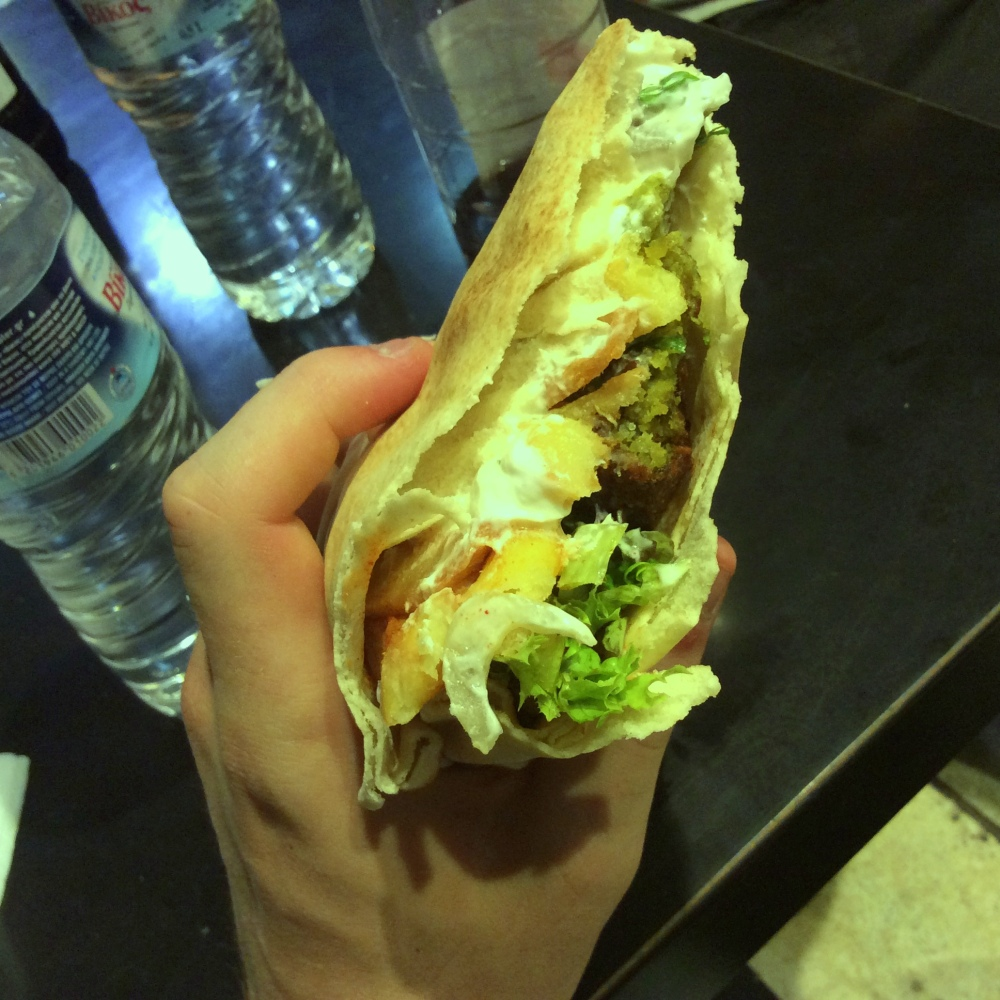 You are free. Time to eat falafel. (6/6)