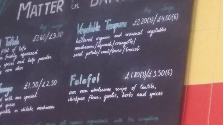 falafel sign