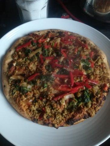 pizza falafel 2